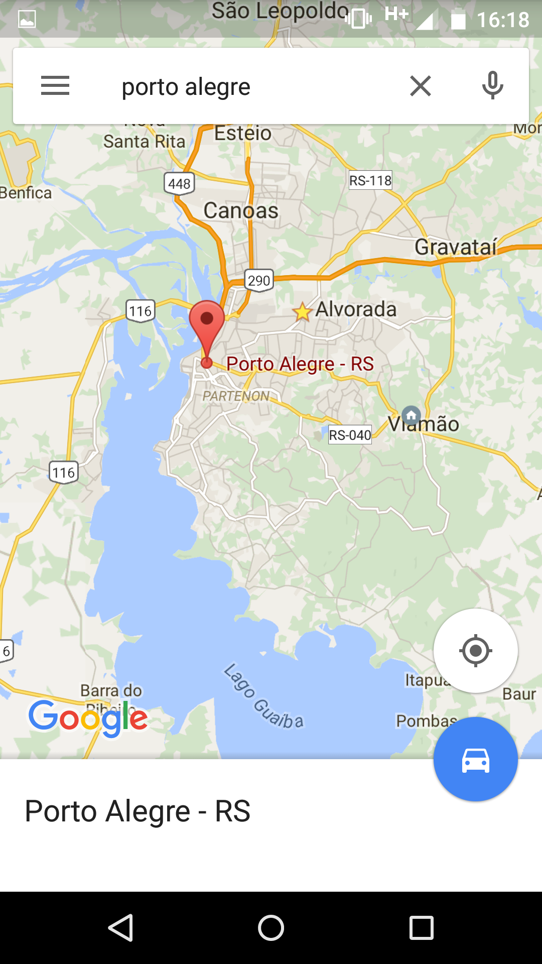 Como baixar mapas offline do Google Maps para Android?