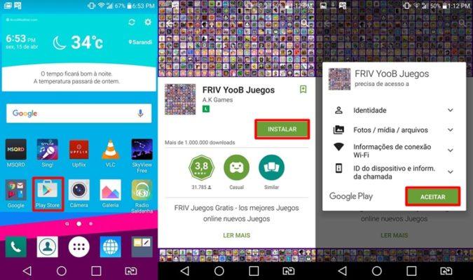 Como jogar os jogos de Friv no celular com Android