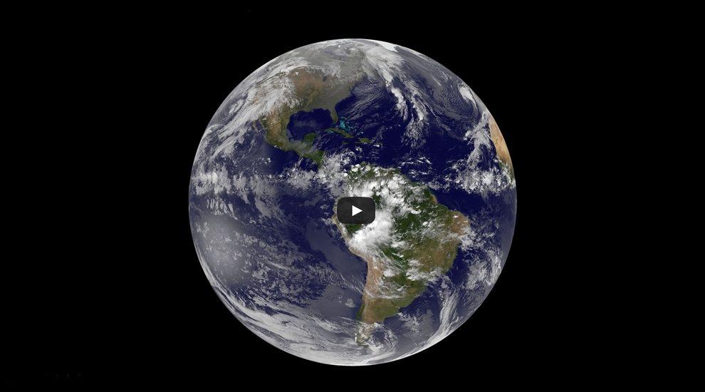 Nasa divulga incrível vídeo de 365 dias da Terra em 2 minutos