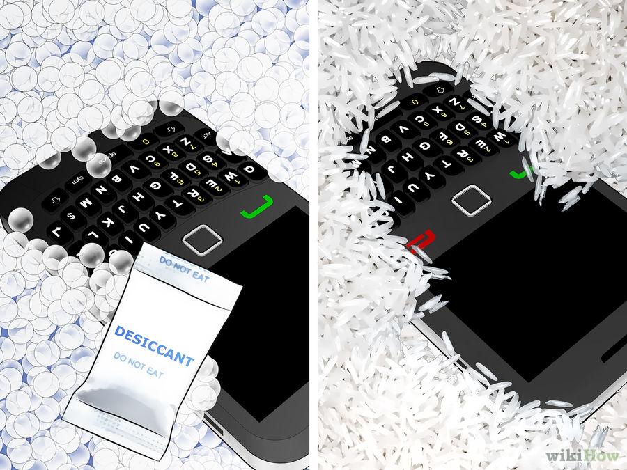 como salvar um celular que caiu na agua