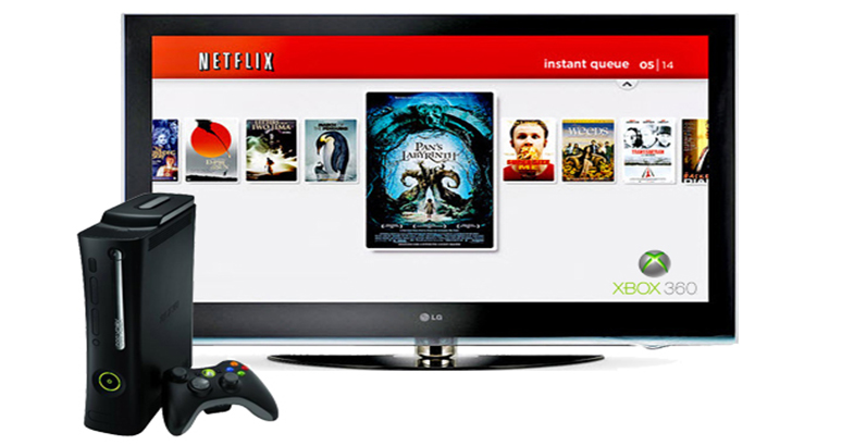 how to use netflix on xbox 360