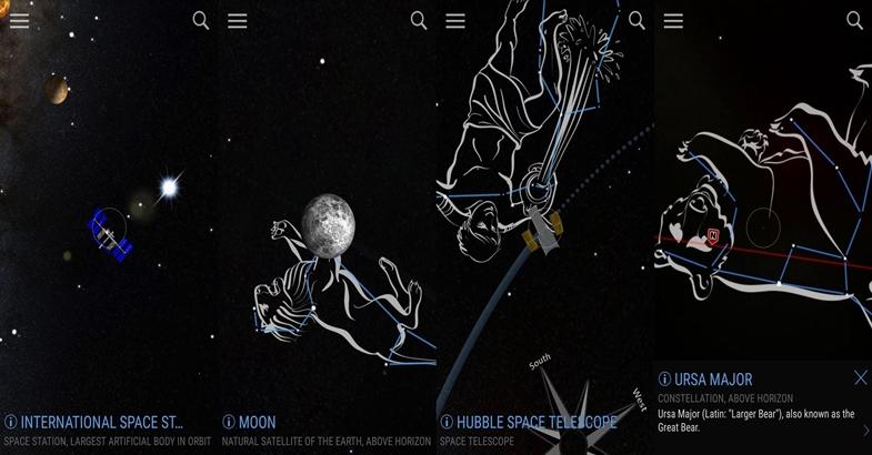 Encontre O Alinhamento Dos 5 Planetas Com O App Skyview Free