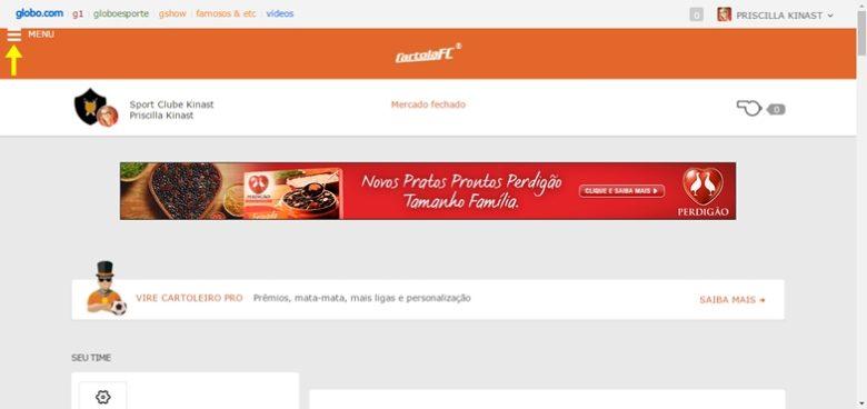 cartola-menu