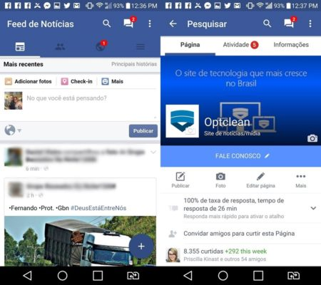 Como mudar o visual do facebook lite para material design for O architecture facebook
