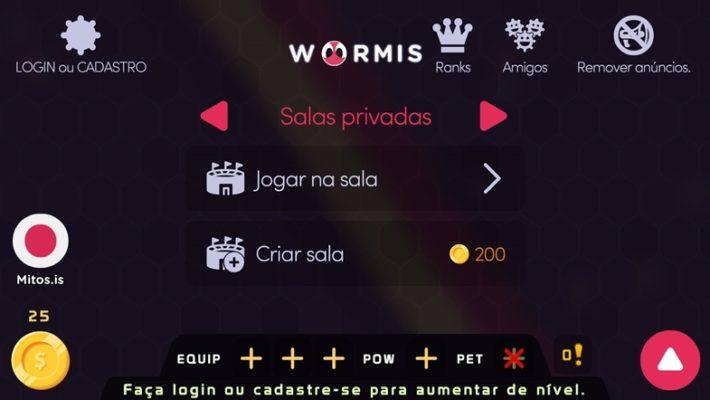 Como jogar Worm.is, jogo estilo Slither.io em seu celular