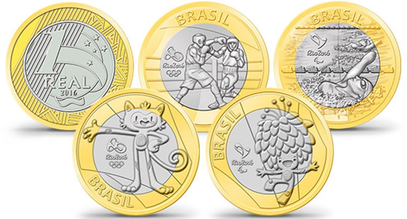 Moedas das Olimpíadas 2016