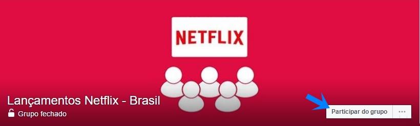 Grupo Lançamentos Netflix Brasil