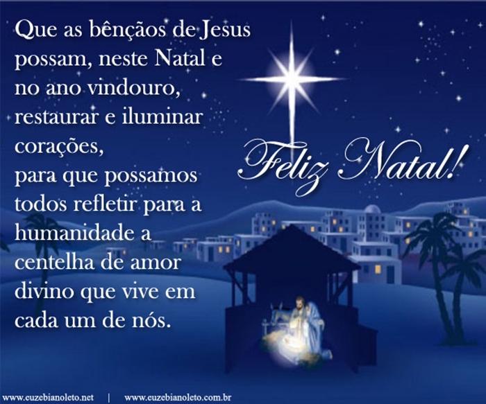 Mensagem De Natal Reflexão: 100 Imagens Com Frases E Mensagem De Natal WhatsApp 2016