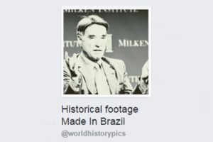 Historical footage Made In Brazil