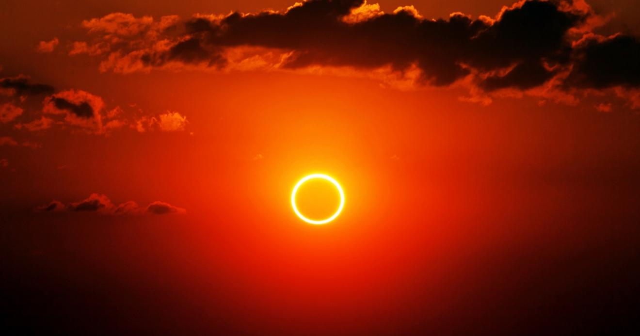 Resultado de imagem para eclipse anular