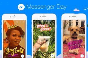 Atualização Messenger Day