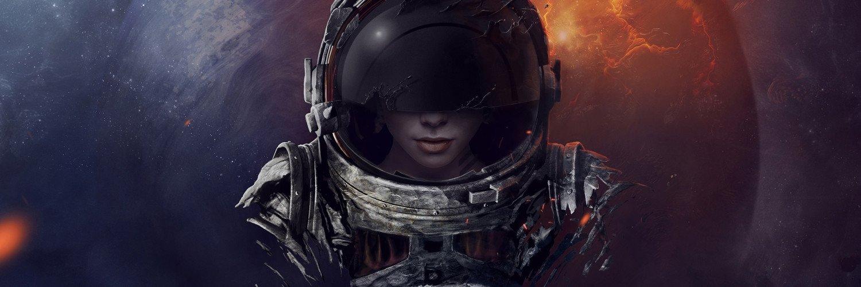Capa Facebook criativa-capa-para-twitter-astronauta-mulher Capas para Twitter