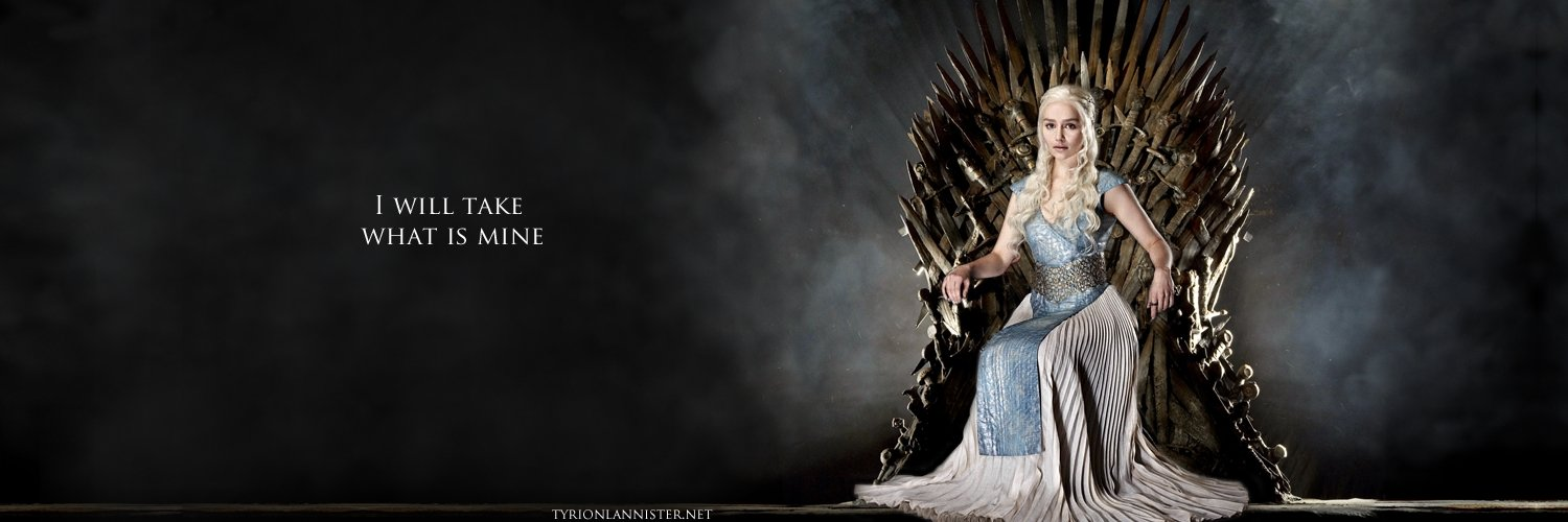 Capa Facebook series-capa-para-twitter-khaleesi-on-the-iron-throne-game-of-thrones Capas para Twitter