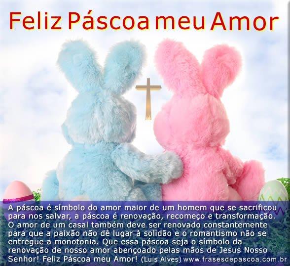 mensagens de Pascoa para namorado família e amigos 2