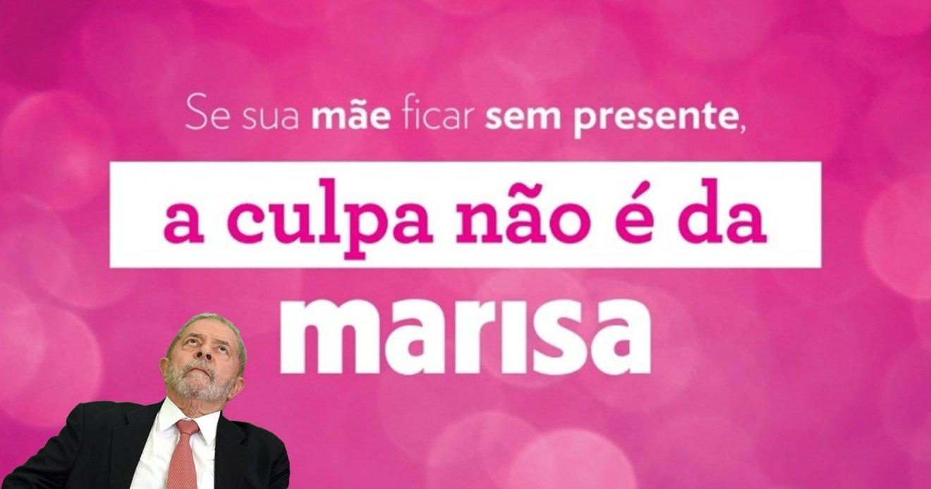 Frases De Inauguração De Loja: A Culpa Não é Da Marisa! Loja Usa Depoimento Do Lula