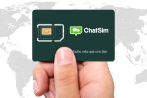 chatsim WhatsApp e Facebook Messenger ilimitados