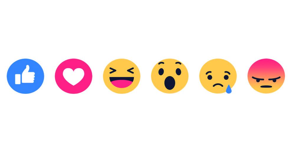 Facebook começa a permitir 'reações' com emojis em comentários