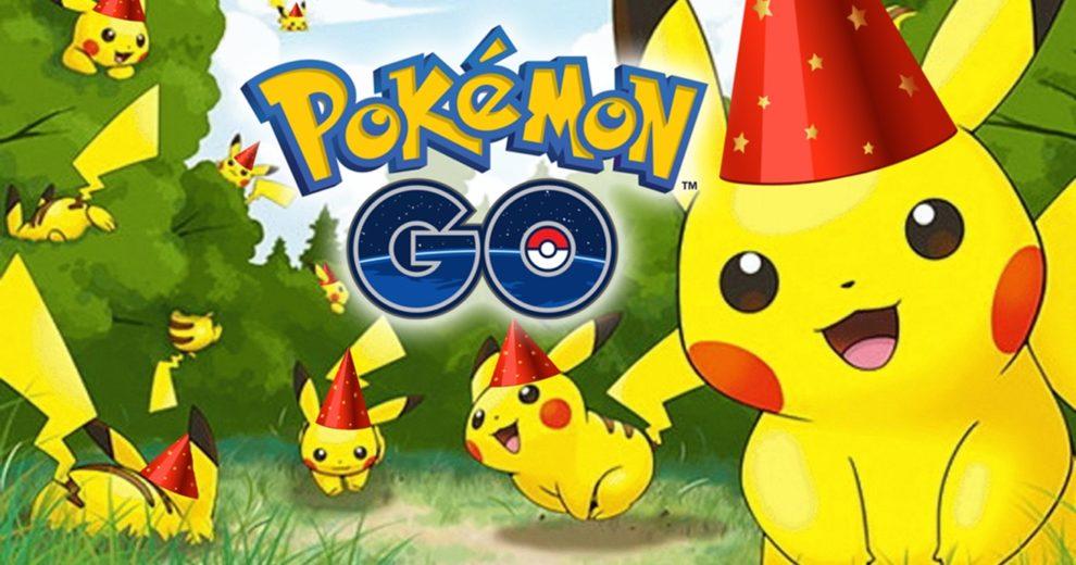 Evento de aniversário de Pokémon Go permite capturar Pikachu especial