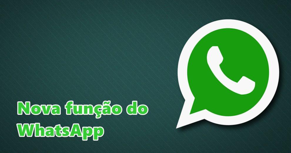 WhatsApp é atualizado para compartilhar qualquer tipo de arquivo