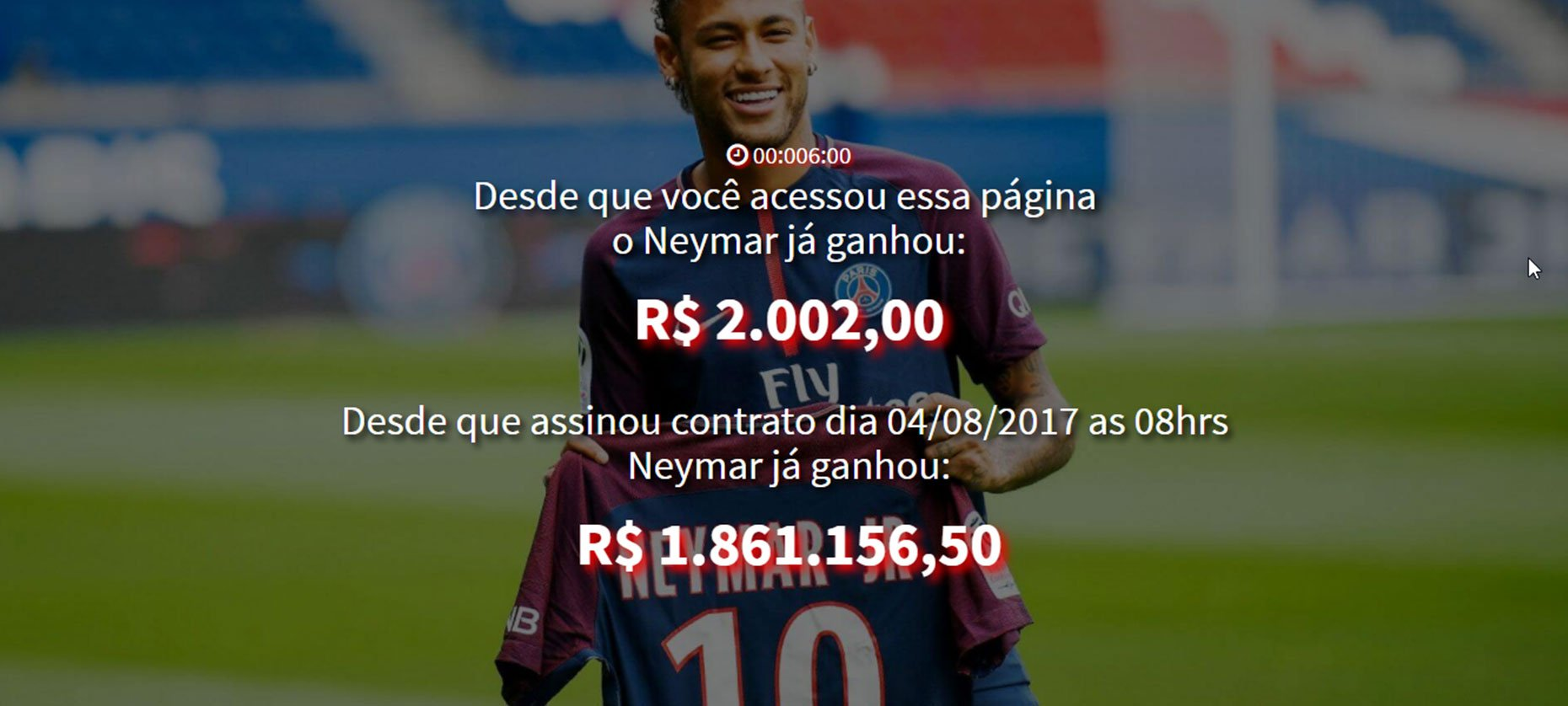 Site atualiza em tempo real salrio do neymar no psg notcias salario do neymar stopboris Image collections