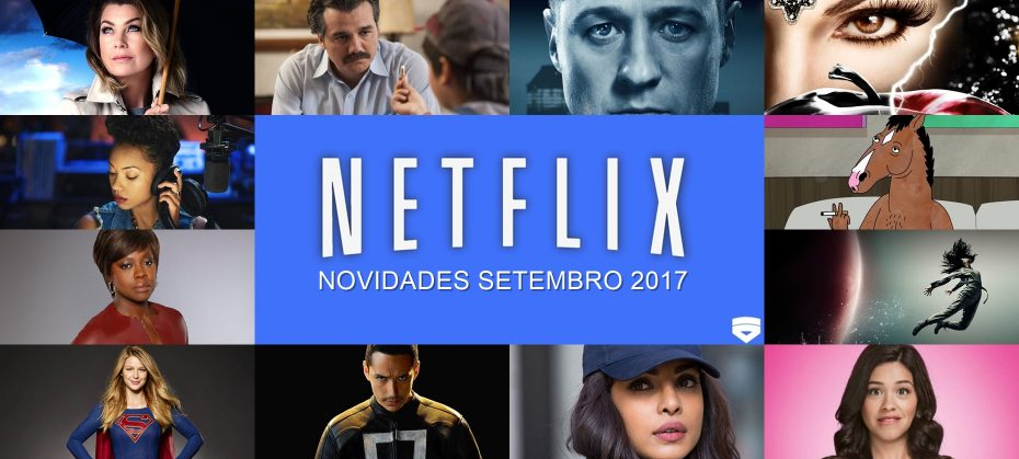 Novidades Netflix Setembro 2017