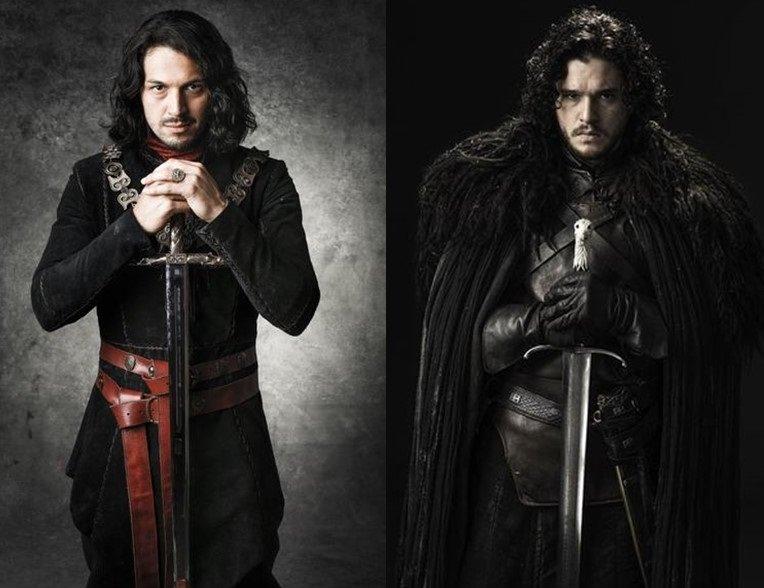 Game of Thrones | Kit Harington se fantasiou de Jon Snow em festa