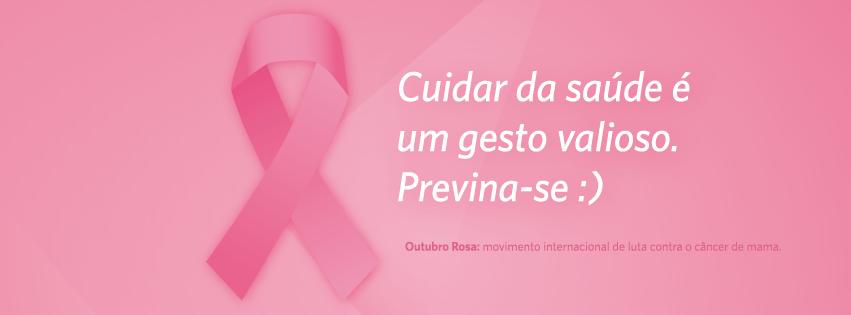 Imagens para capa do Facebook Outubro Rosa
