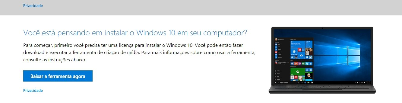 windows usb bootavel