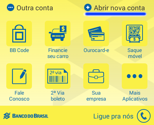 Como abrir uma conta digital no Banco do Brasil
