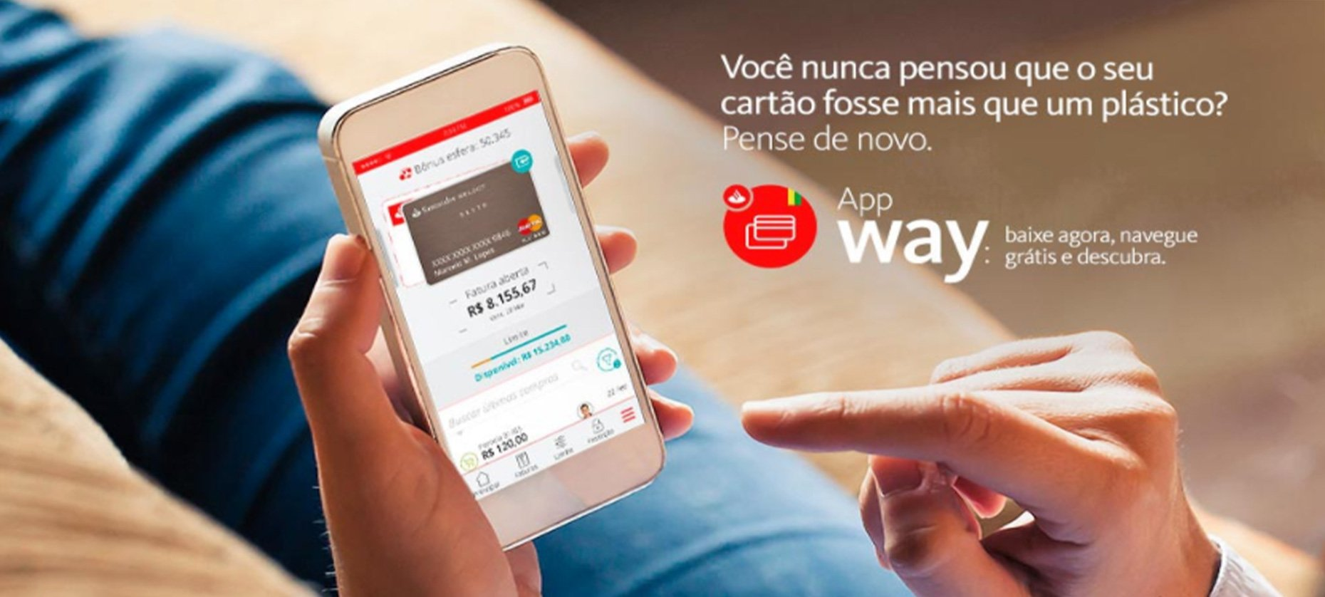 Conhe a o app santander way e fa a a gest o de sua fatura - Como ligar para o santander do exterior ...