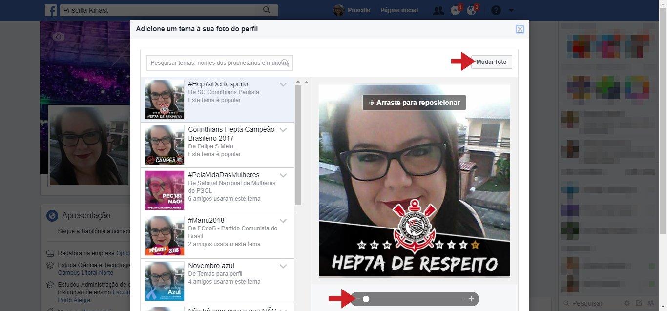 d8186983a5 Como colocar Corinthians campeão na foto do perfil do Facebook