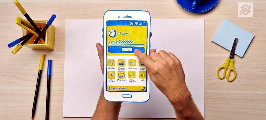 Como abrir uma conta digital no Banco do Brasil pela internet app