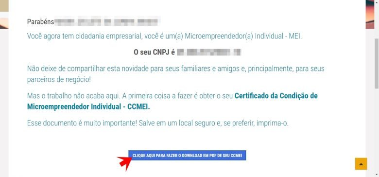 Portal do Empreendedor MEI