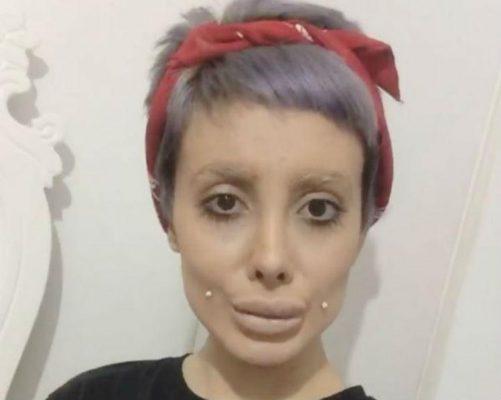 Sahar Tabar No Photoshop >> Sahar Tabar fez mesmo 50 cirurgias para parecer Angelina Jolie?