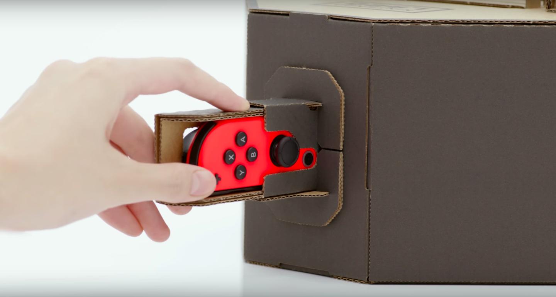 Nintendo lança linha de acessórios feitos com papelão para o Switch