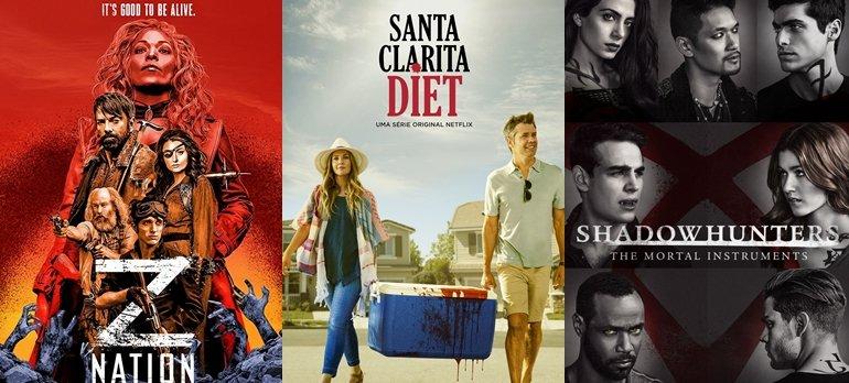 Séries que serão atualizadas esta semana na Netflix.