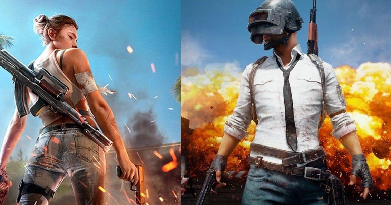 2048x1152 wallpaper free fire: Free Fire E PUBG Mobile Battlegrounds: Qual O Melhor